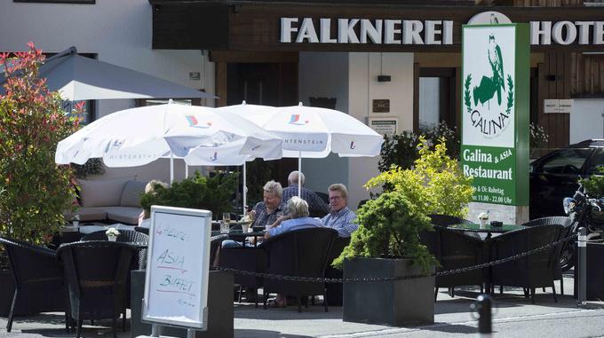 Falknerei Galina, Triesenberg