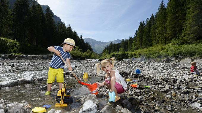 Children at Stegersee