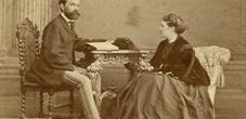 Das Ehepaar Josef und Fanny Rheinberger