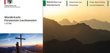 Wanderkarte Liechtenstein