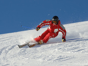 A l'école de ski pour peaufiner un style de champion