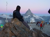 Sunrise on the Gornergrat