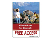 Free Access Card, Les Diablerets, Villars-Gryon