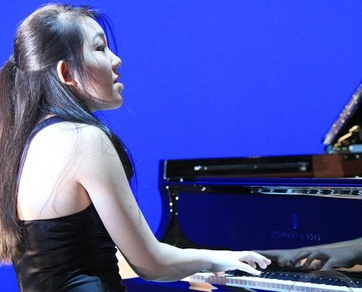 La star du piano Mlodie Zhao se produira le 1er septembre  Zermatt. ( Rudra Bjart)