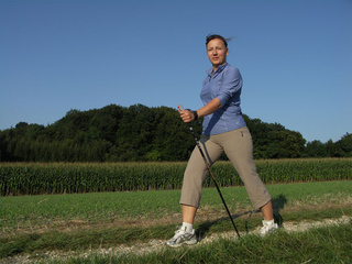 Nordic walking, Yverdon-les-Bains